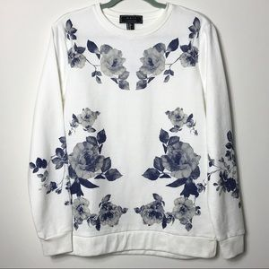 NWT Forever 21 Floral Sweatshirt